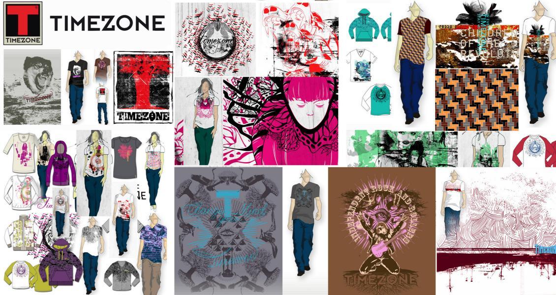 70 fashion design graphic textile1