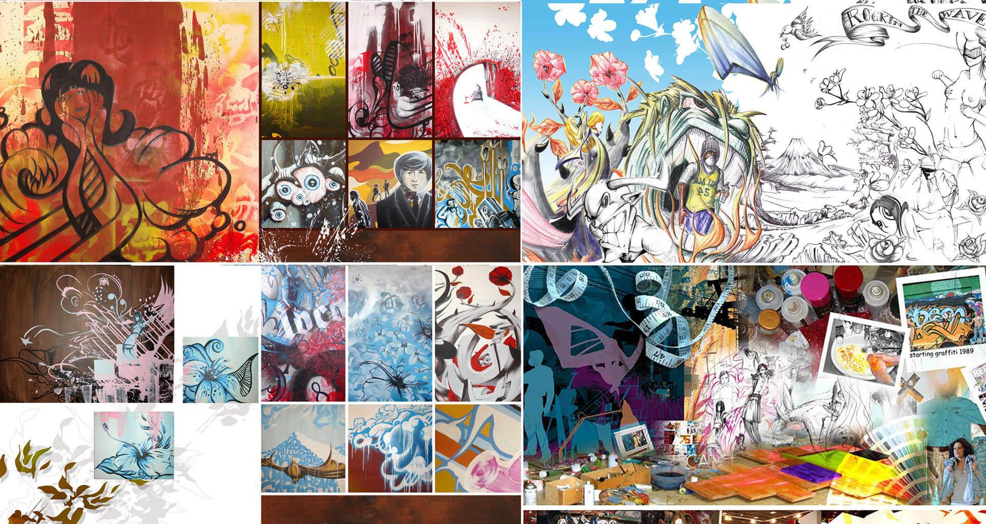 art artist street art illustrator art paintings illustration cover street grafitti grafik gregor fenger 1