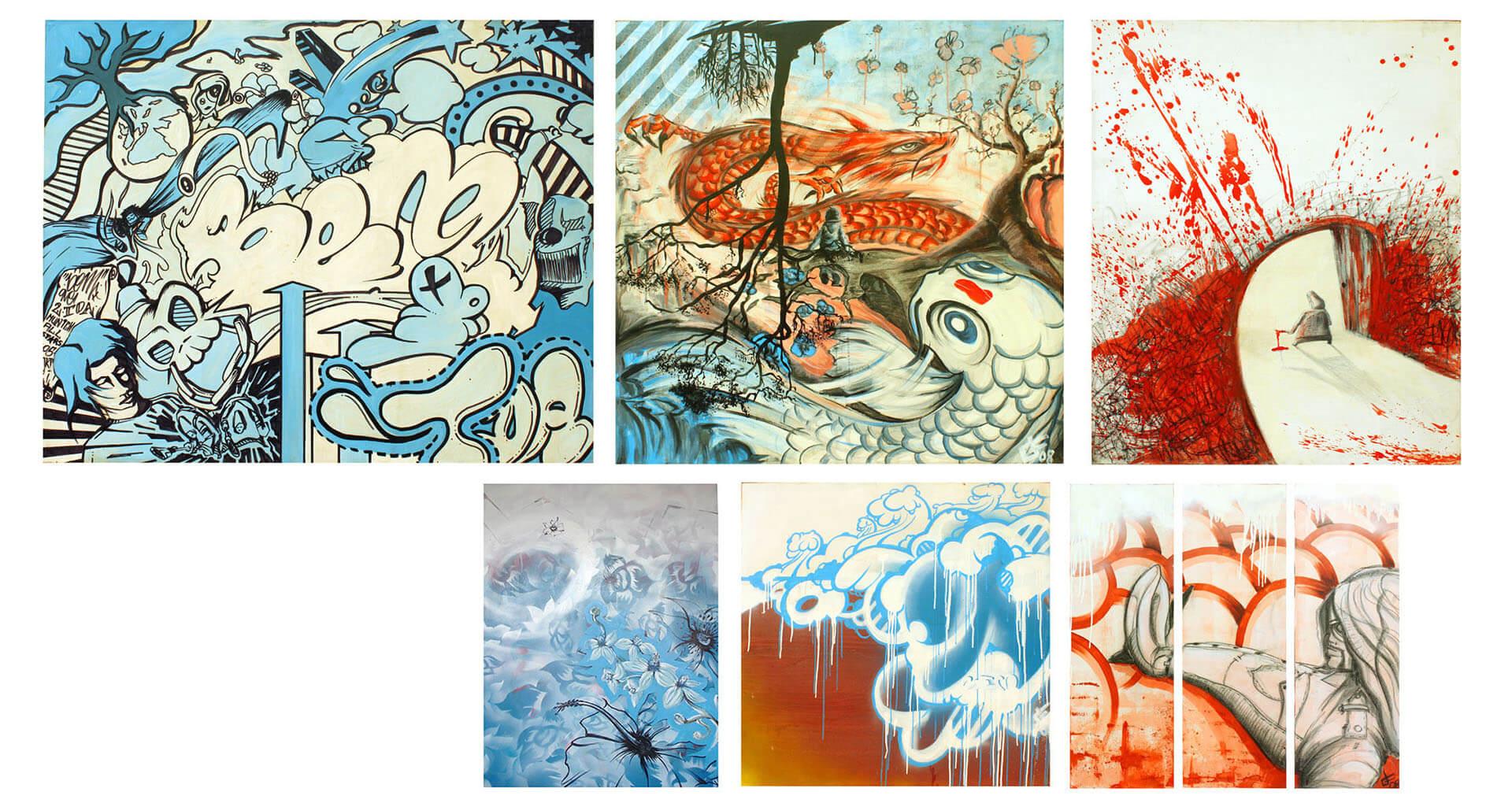 art paintings illustration cover street grafitti grafik gregor fenger 101