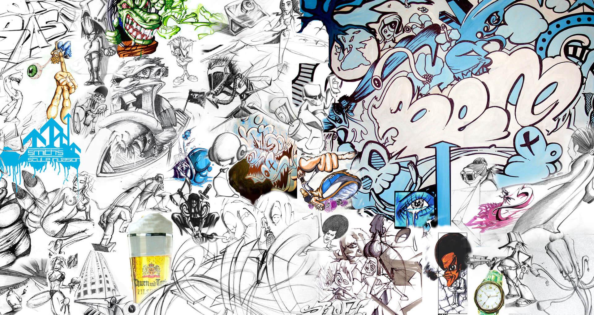 art paintings illustration cover street grafitti grafik gregor fenger 6