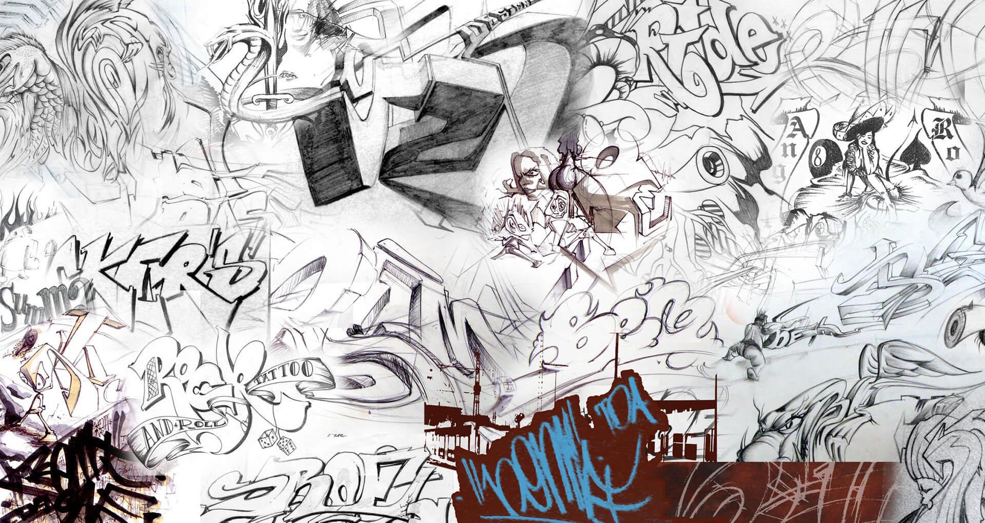 art paintings illustration cover street grafitti grafik gregor fenger 7
