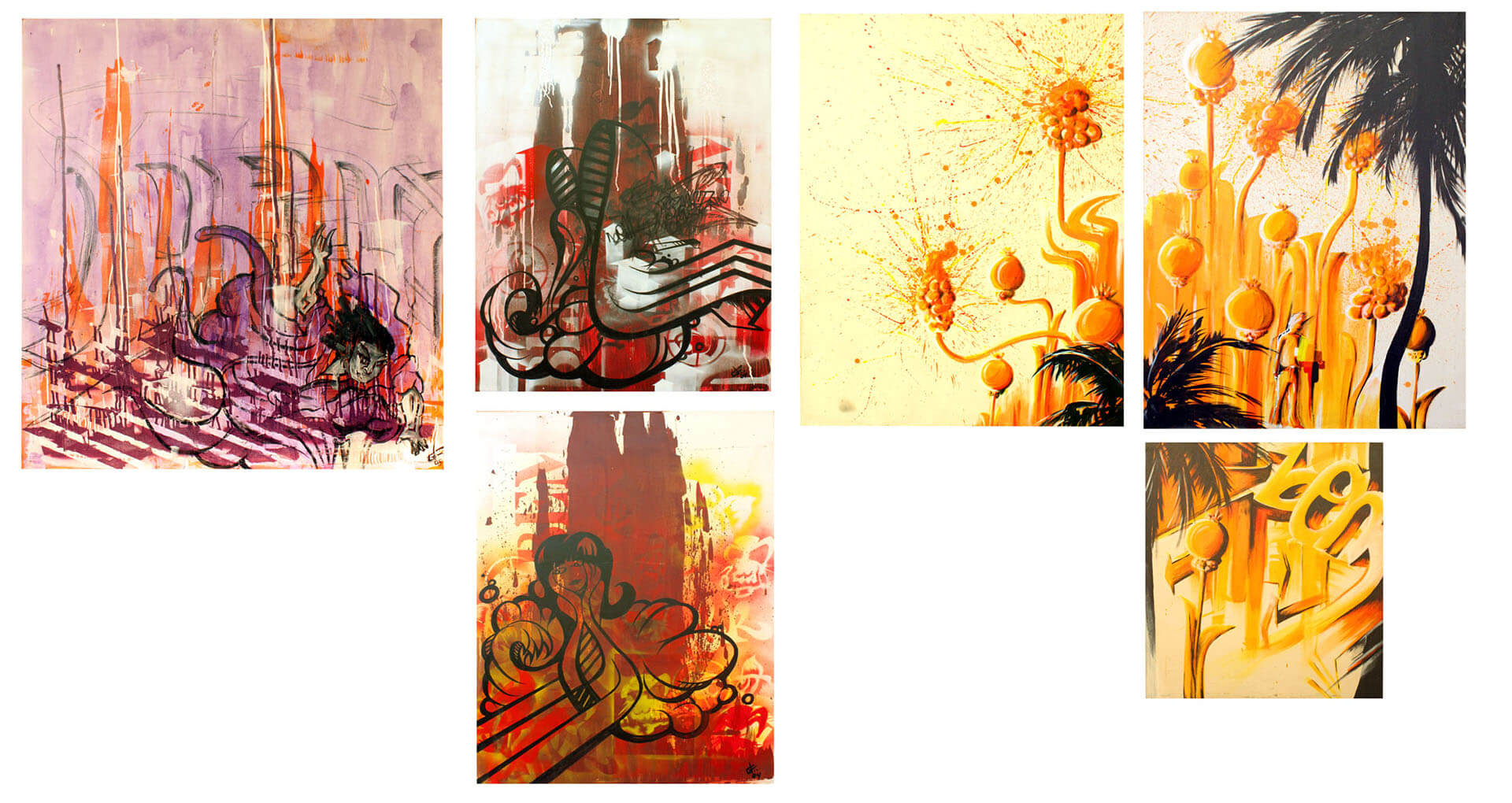 art paintings illustrations graphic gregor fenger 10