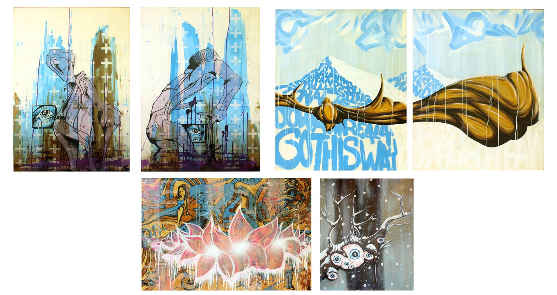 art paintings illustrations graphic gregor fenger 11