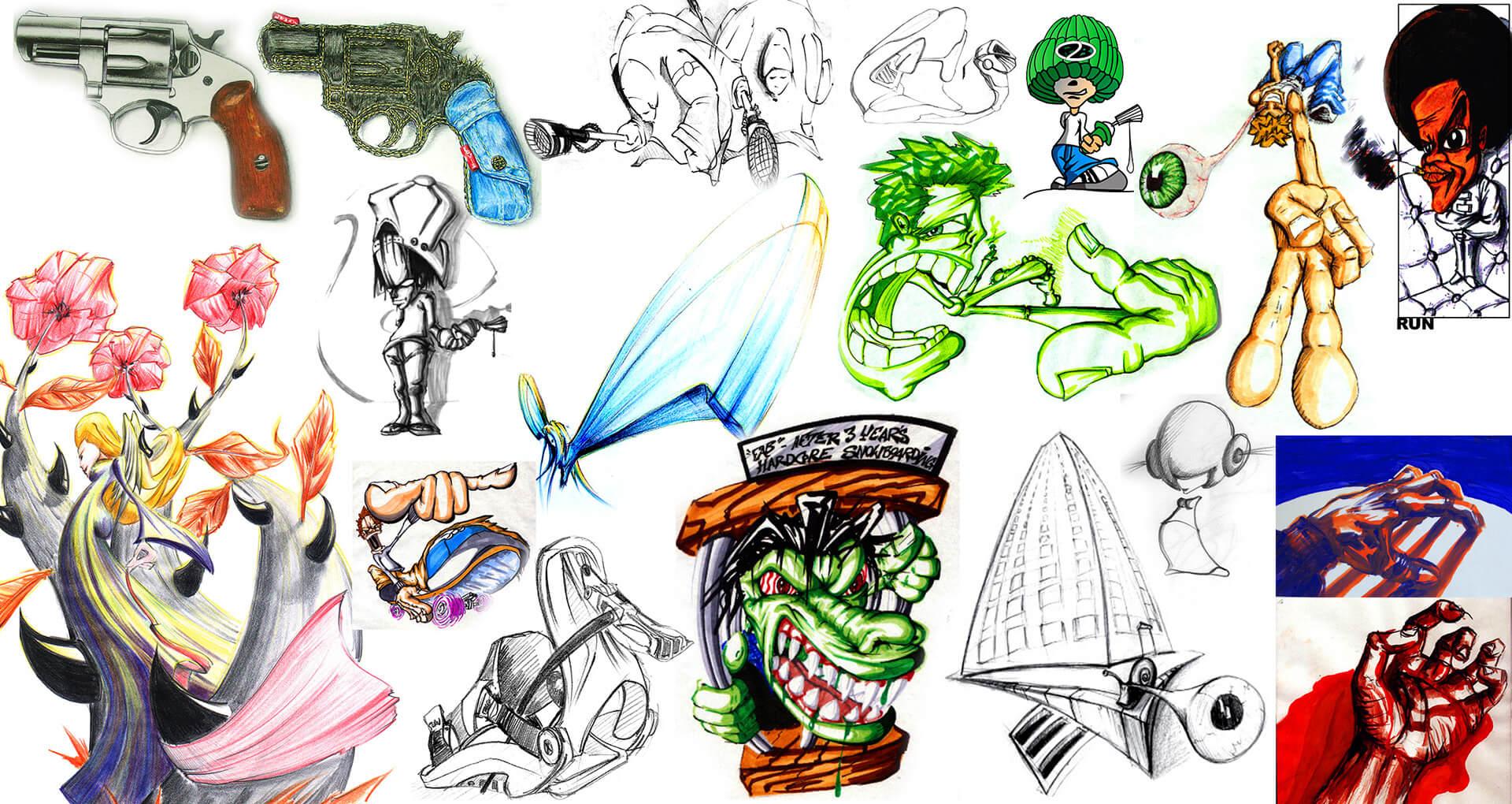 art paintings illustrations graphic gregor fenger 15