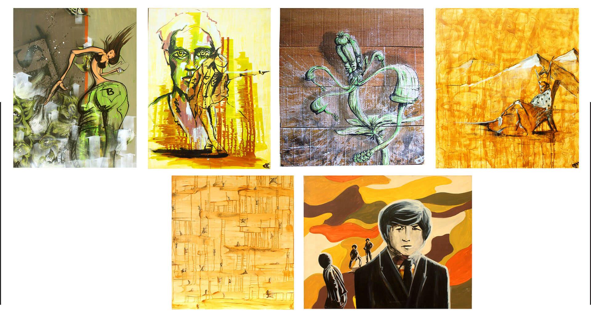 art paintings illustrations graphic gregor fenger 9