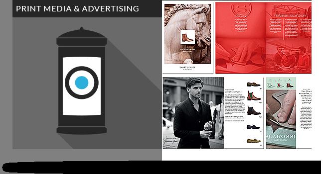 grafik design kataloge print werbung muenchen