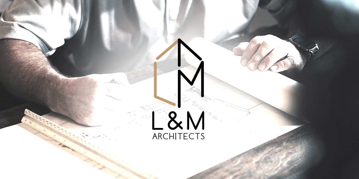 logo design muenchen corporated design brand lm architects