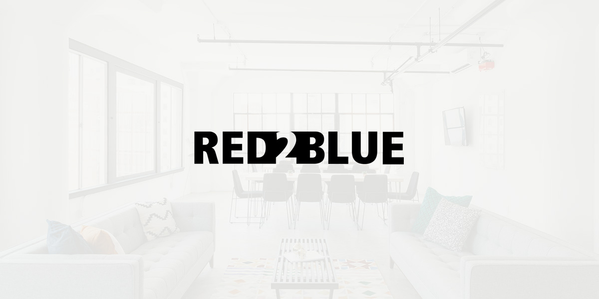 logo design muenchen corporated design brand red2blue