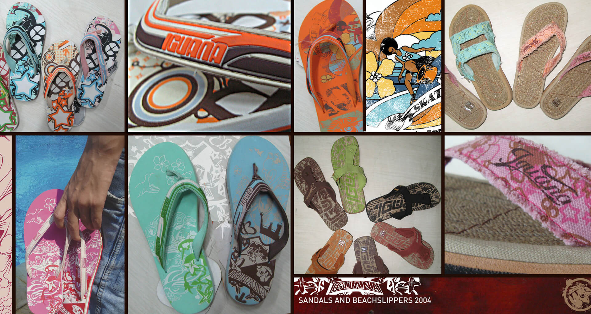 product design snowboards surfbaords hats gloves bags shoes sandals 4