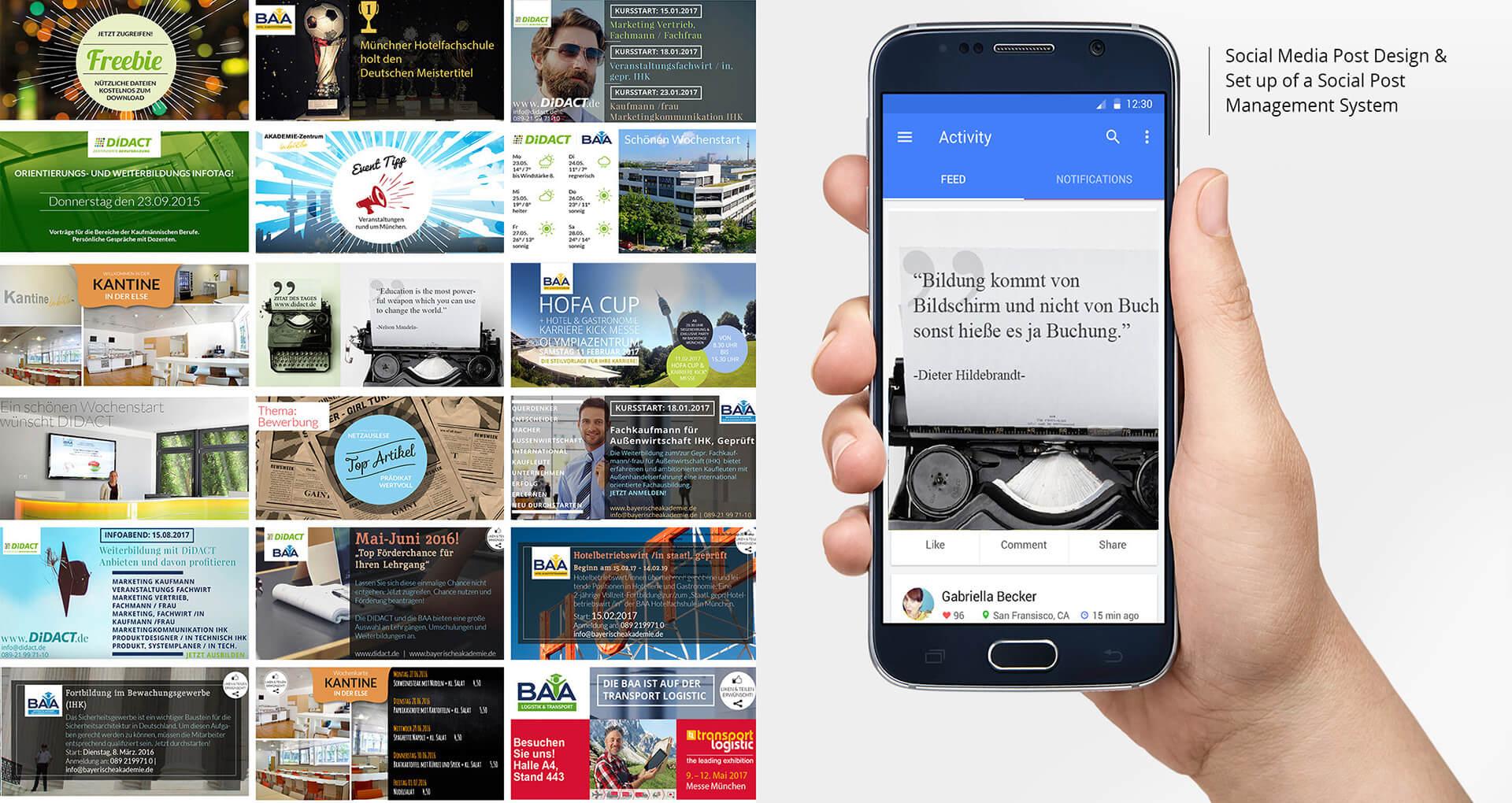 webdesign online marketing wordpress social media marketing html5 css newsletter responsive banner 001