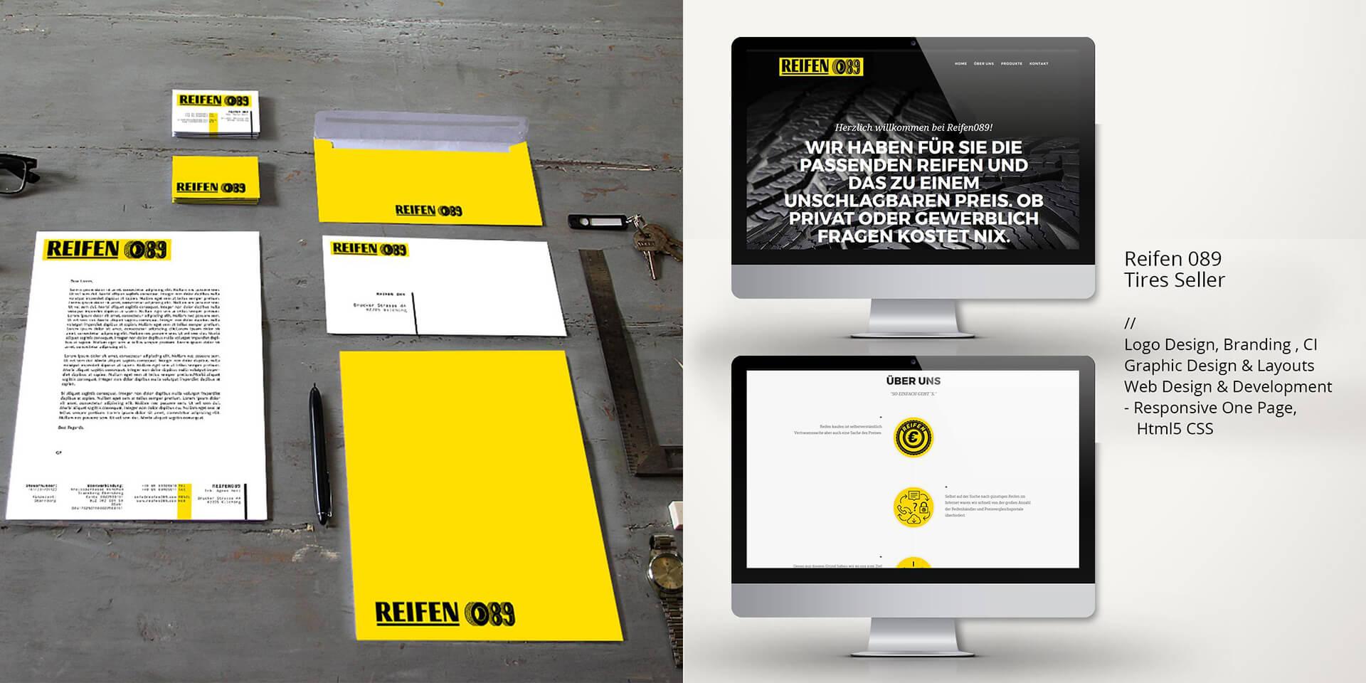 webdesign reifen089 website geschaeftsausstattung branding