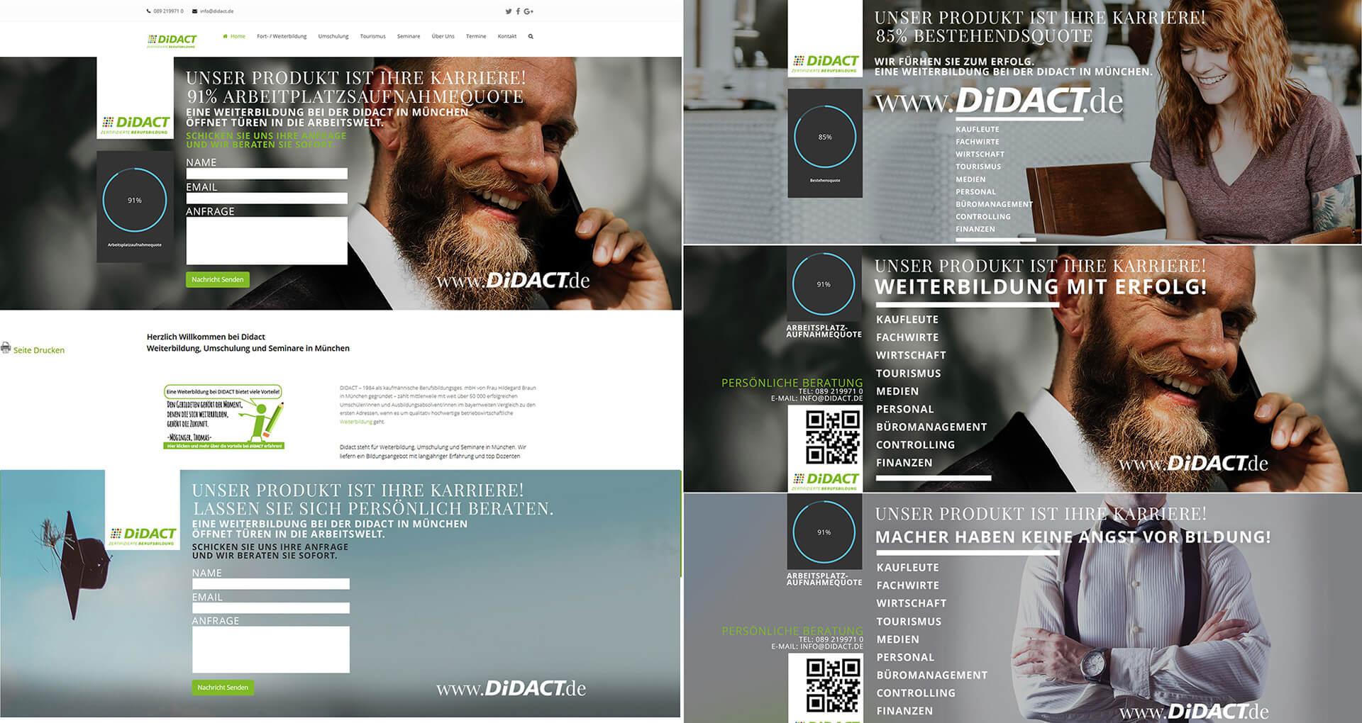 webdesign wordpress social media marketing html5 css newsletter responsive banner 006