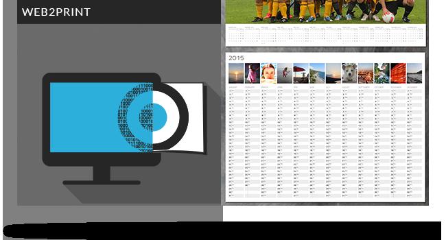 webtoprint calendar agentur templates muenchen