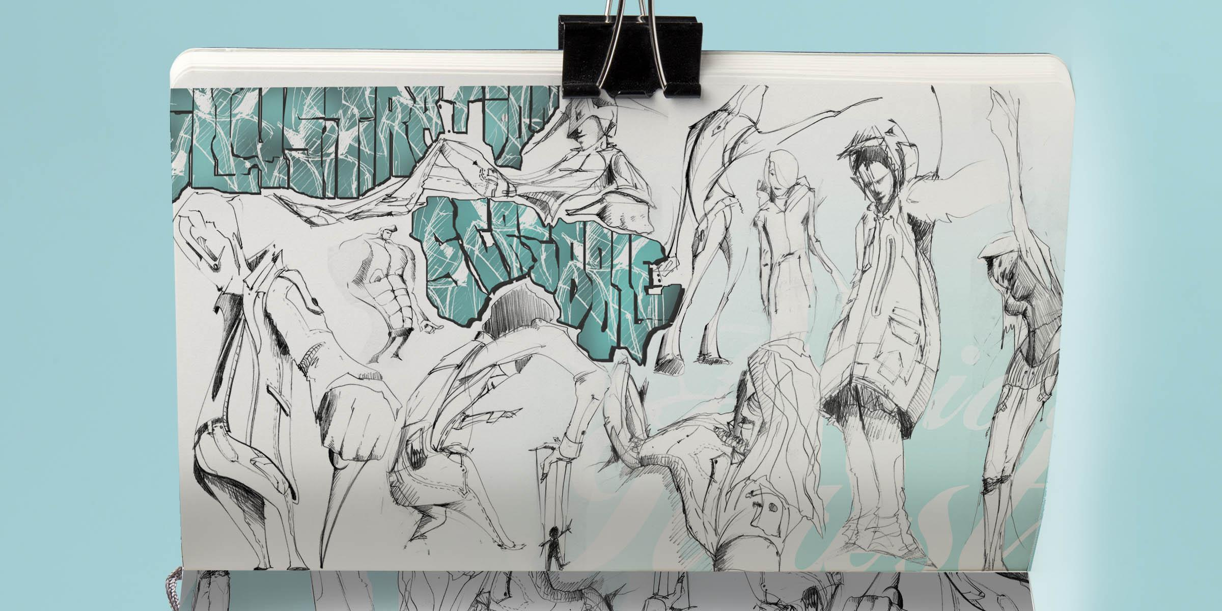 2gregor fenger art street acryl jakarta fair scribble graffiti