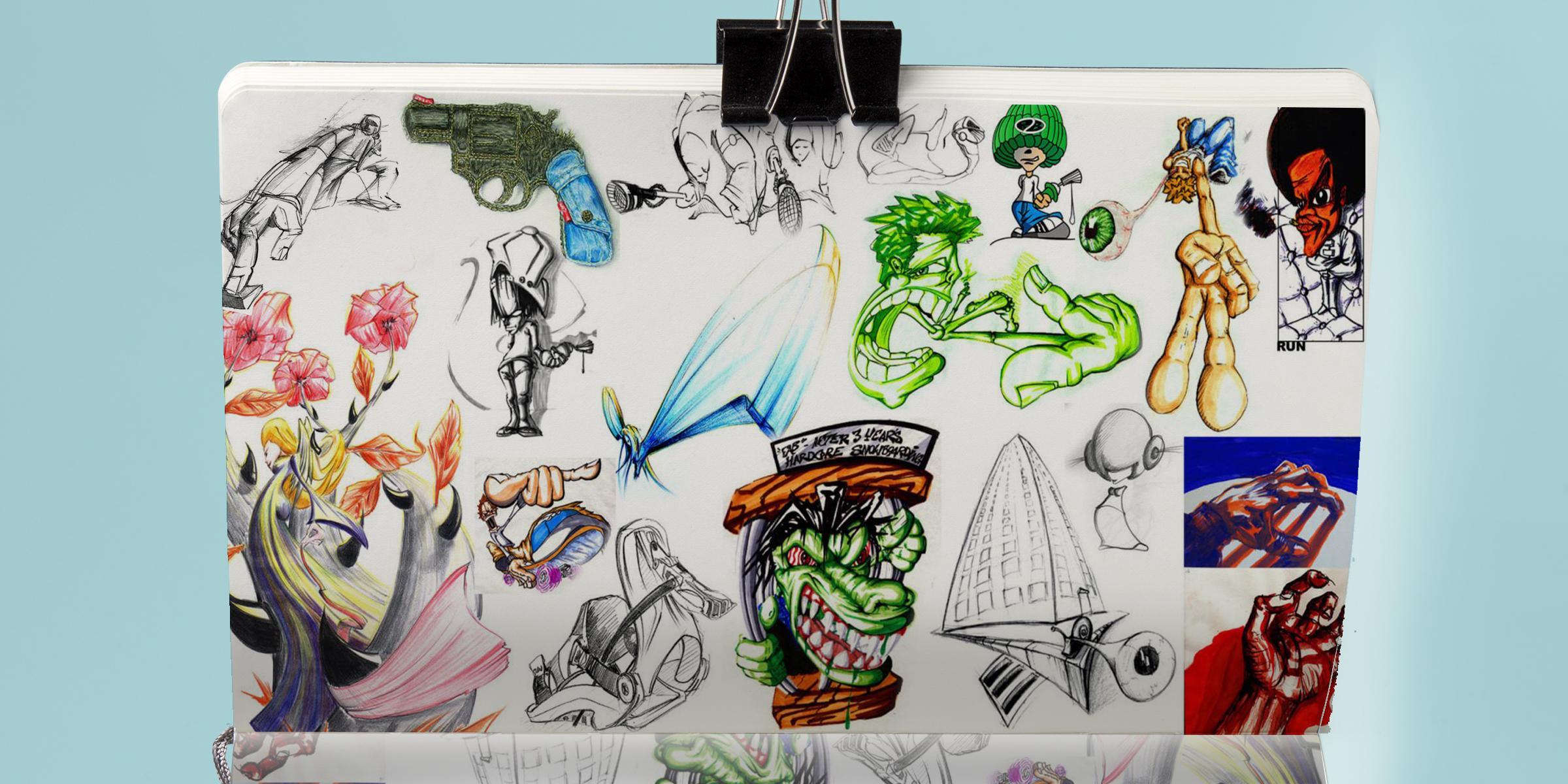 5gregor fenger art street acryl jakarta fair scribble graffiti