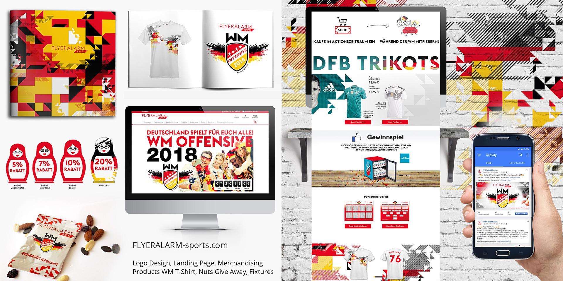 12 gfd gregor fenger designworks for fa sports de branding corporate design smm sma social media marketing online
