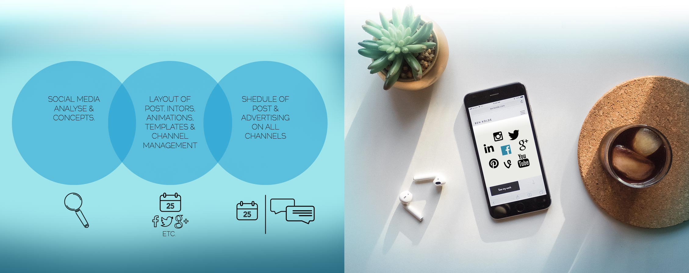 Social Media Marketing Agency logo design muenchen corporate identity logo erstellen muenchen ci social de